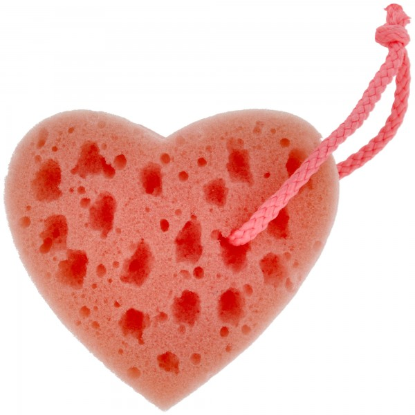 PARSA Beauty bath sponge heart