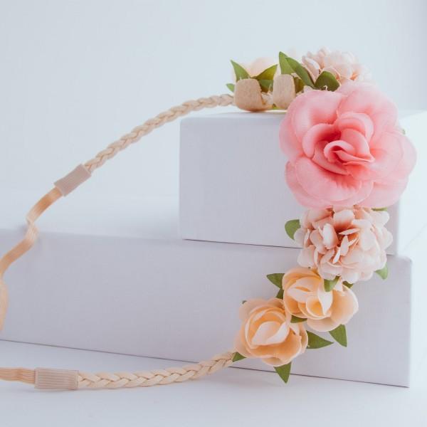 PARSA Beauty Haarband mit Blütendetails