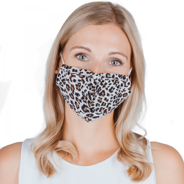 PARSA Beauty Washable mouth and nose mask for adults Print Leo