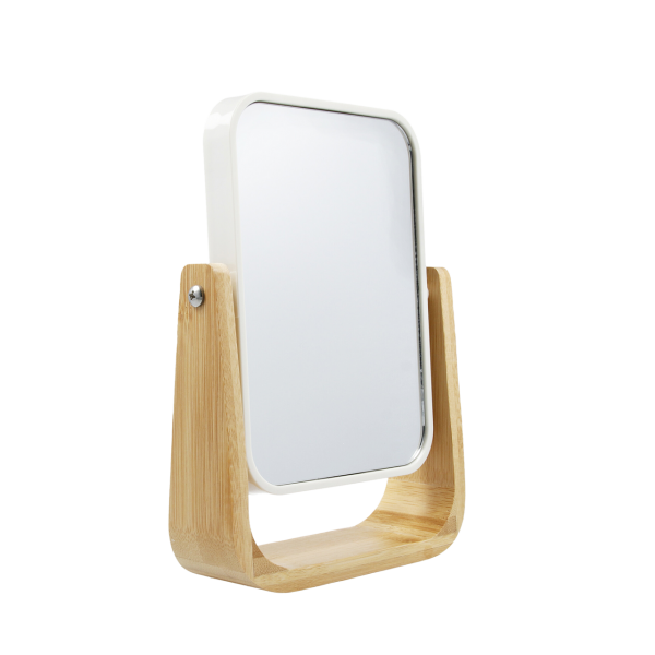 PARSA Beauty bamboo mirror with 5x magnification