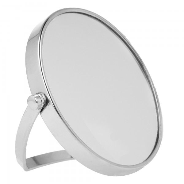 PARSA Beauty Travel Mirror Silver travel mirror with 5x magnification