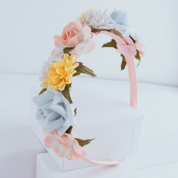 PARSA Beauty headband with flower details
