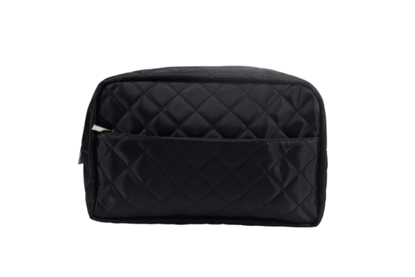 PARSA Beauty cosmetic bag with quilted pattern