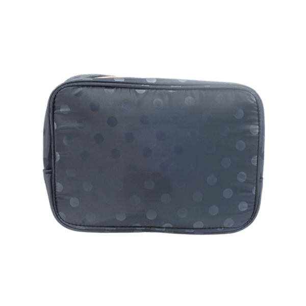 PARSA Beauty cosmetic bag blue dotted