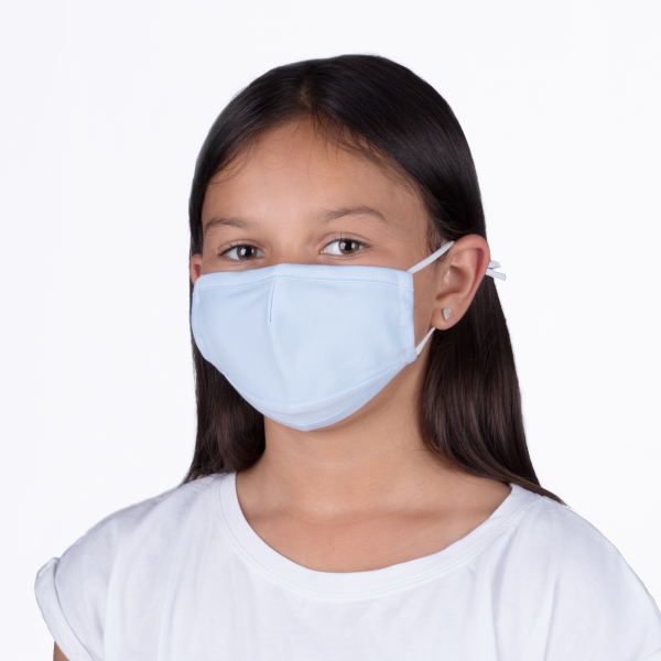 PARSA Beauty washable mouth and nose mask child blue