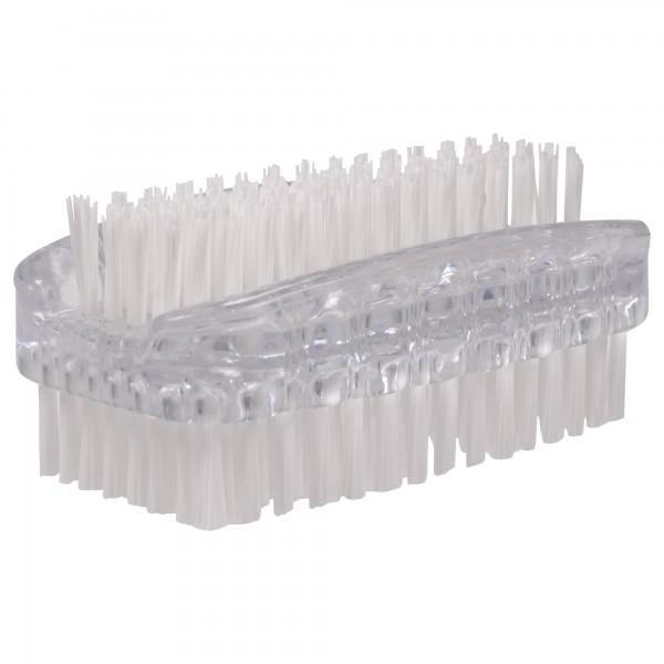PARSA Beauty double-sided brush in transparent nail brush / hand washing brush