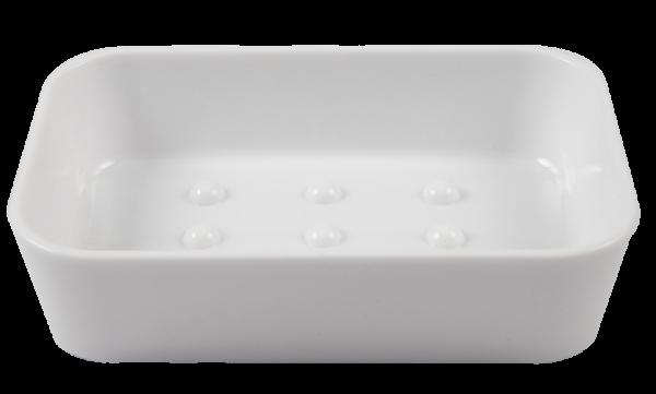 PARSA Beauty Soap Dish Style, white