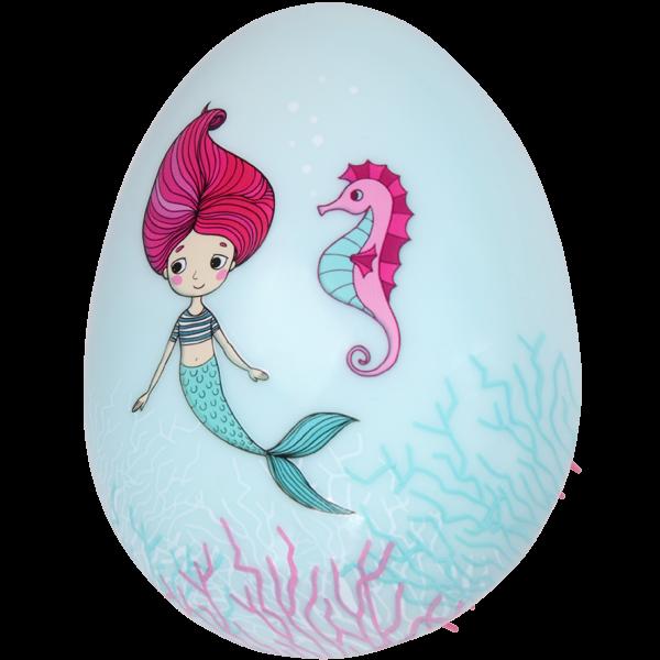 PARSA Beauty Entwirrbürste Meerjungfrau