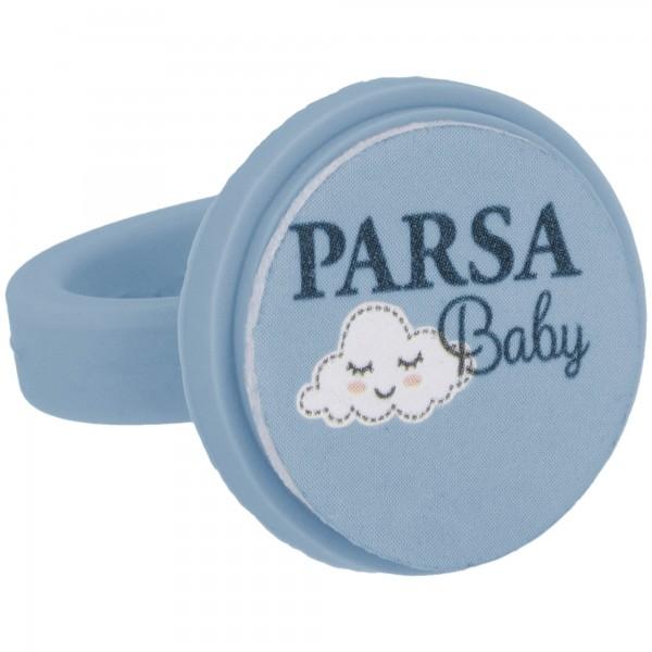 PARSA Baby Nagelfreilring Nagelpflege für Babys mit 7 Feilpads / Einwegfeilen