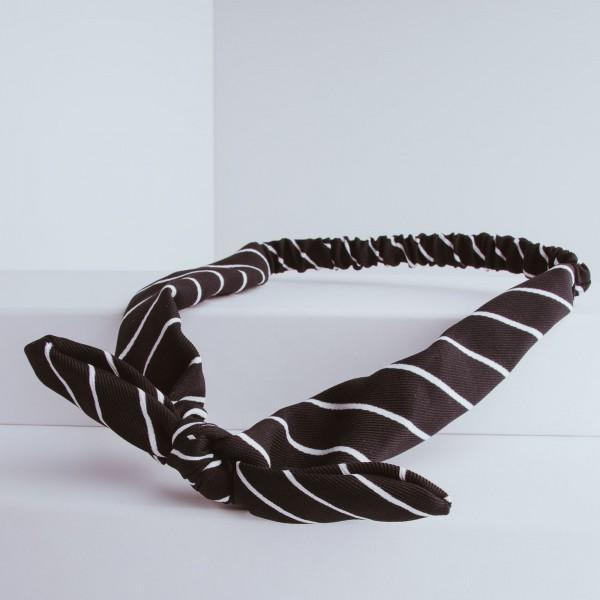 PARSA Beauty Haarband mit Schleife und Streifen